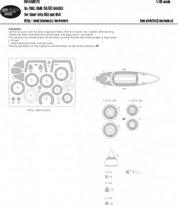 Suchoj Su-7 BKL / BMK BASIC kabuki masks