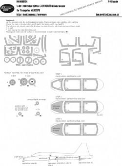 T-38C Talon NASA ADVANCED kabuki masks