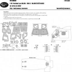 Westland Lynx Mk.88A / HMA 8 / Mk.90B BASIC masks