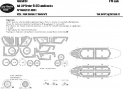 Yak-28P Firebar BASIC kabuki masks