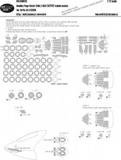 Handley Page Victor B.Mk.2 (BS) EXPERT kabuki masks
