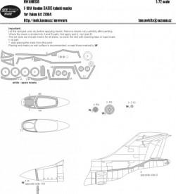F-101A Voodoo BASIC kabuki masks