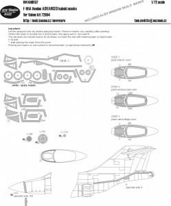 F-101A Voodoo ADVANCED kabuki masks