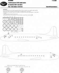 C-54D Skymaster BASIC kabuki masks