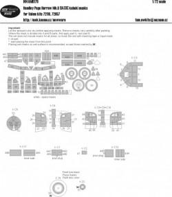 Handley Page Harrow Mk.II BASIC kabuki masks