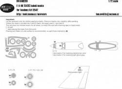 F/A-18E BASIC kabuki masks