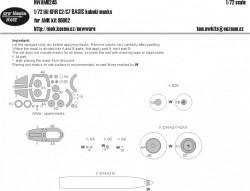 IAI KFIR C2/C7 BASIC kabuki masks