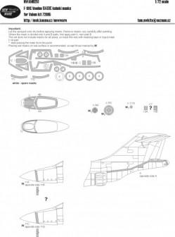 F-101C Voodoo BASIC kabuki masks
