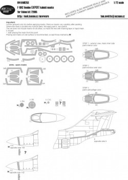F-101C Voodoo EXPERT kabuki masks
