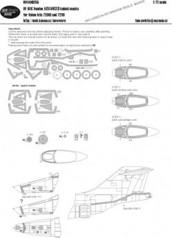 RF-101C Voodoo ADVANCED kabuki masks