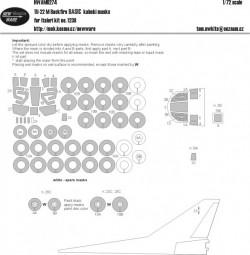 Tu-22M Backfire BASIC kabuki masks