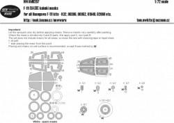 F-111 BASIC kabuki masks