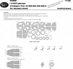 F-111 EXHAUST NOZZLES kabuki masks