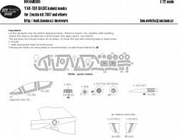 Yak-130 BASIC kabuki masks