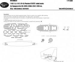F-4 B/E/EJ/N/S, RF-4EJ Phantom II BASIC kabuki masks