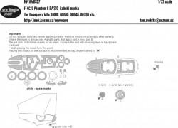F-4 C/D Phantom II BASIC kabuki masks