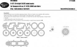 B-47E Stratojet BASIC kabuki masks