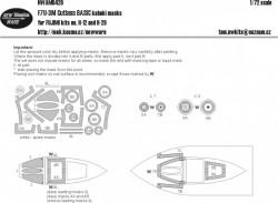 F7U-3M Cutlass BASIC kabuki masks