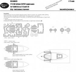 F7U-3M Cutlass EXPERT kabuki masks