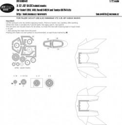 X-32 JSF BASIC kabuki masks
