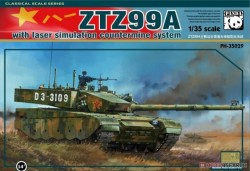 ZTZ-99A With Laser simulation Countermine System