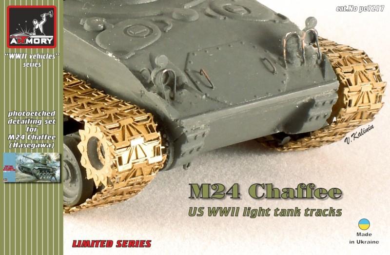 M24 Chaffee tracks