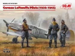 German Luftwafe Pilots(1939-1945)(3 Figures)