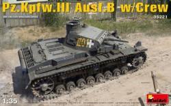 Pz.Kpfw.3 Ausf.B w/Crew
