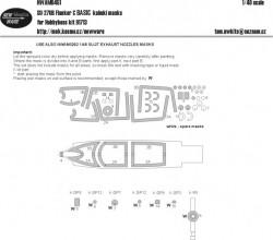 Su-27 UB Flanker C BASIC kabuki masks