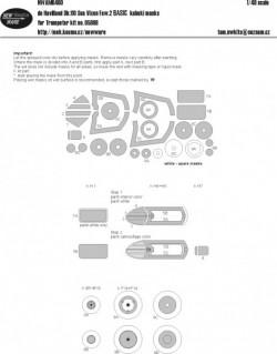 de Havilland D.110 Sea Vixen Faw.2 BASIC kabuki masks