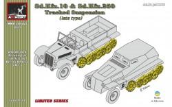 Demag D7 rear wheels set, late