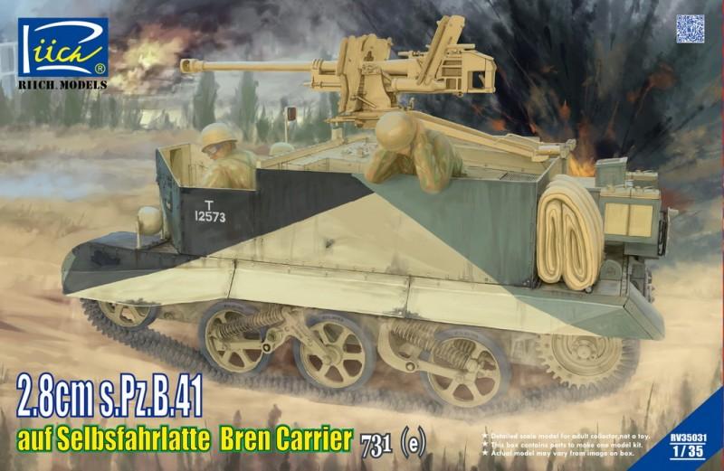 2.8cm s.Pz.B.41 auf SelbsfahrlafetteBren Carrier 731 (e)