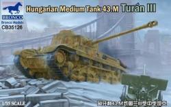 Hungarian Medium Tank 43.M Turan III