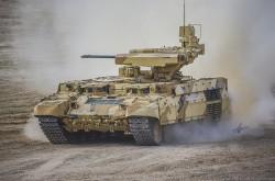 Russian Obj199 BMPT Ramka w ATGM launche ATAKA