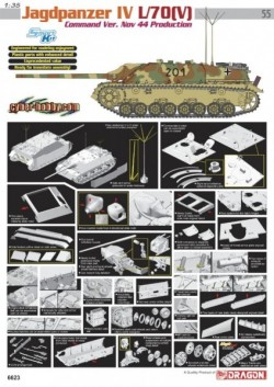 JAGDPANZER IV L/70(V) COMMAND VERSION NOV 44 PRODUCTION (SMART KIT)