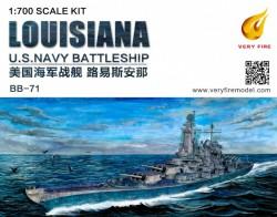 Louisiana U.S. Navy Battleship BB-71