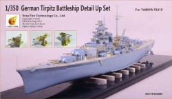 German Tripitz Battleship Detail Up Set (for 78015 TA)