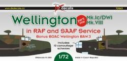 Wellington Mk.Ic/DWI, Mk.VIII in RAF and SAAF Service part 1