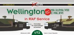 Wellington Mk.Ic, Mk.VIIIc, Mk.XVI in RAF Service part 2