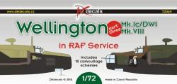 Wellington Mk.Ic/DWI, Mk.VIII in RAF Service part 3