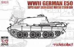 WWII German E-50 super heavy 38cm assult mortar sturm gun