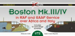 Boston Mk.III/V in RAF and SAAF service over Africa and Italy