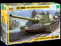 Soviet S.P.Gun SU-100 (new molds)