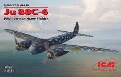JU 88C-6, WWII German Heavy Fighter