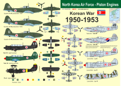 North Korea Air Force 1950-1953- Piston Engines