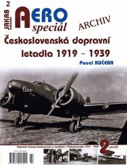 AERO speciál č.2: Československá dopravní letadla 1919-1939