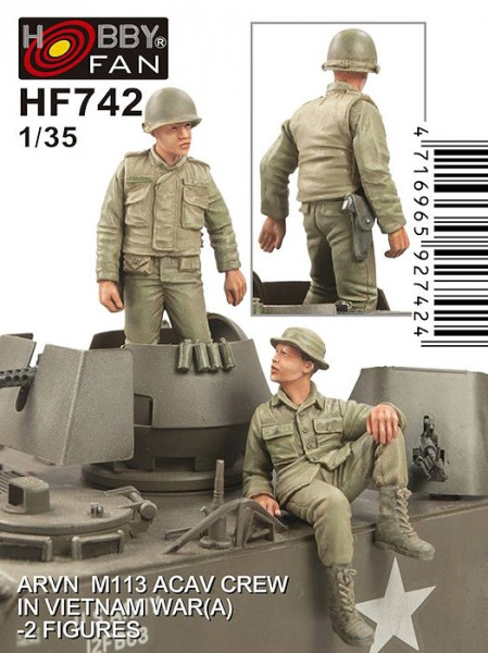 ARVN M113 Crew(1)-2 Figures