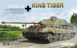German Heavy Tank Sd.Kfz.182 King Tiger (Porsche Turret)