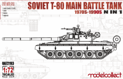 Soviet T-80 Main Battle Tank 1970S-1990S N in 1