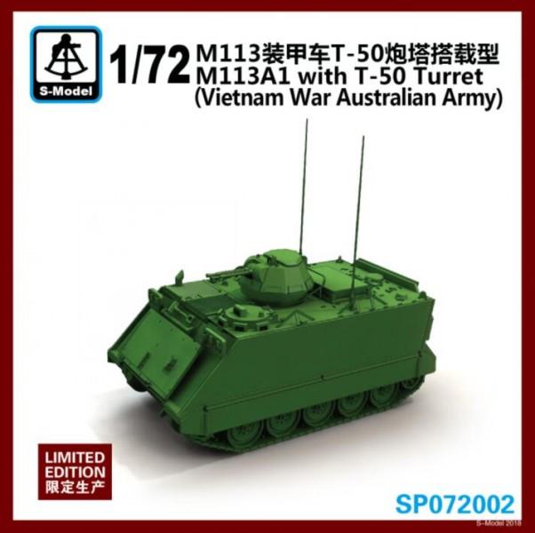 M113A1 with T-50 Turret(Vietnam War Australian Army)